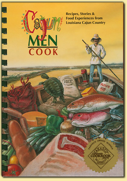 Cajun Men Cook Book